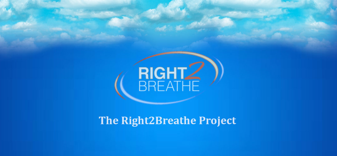 Right2Breathe® Launches The Right2Breathe Project